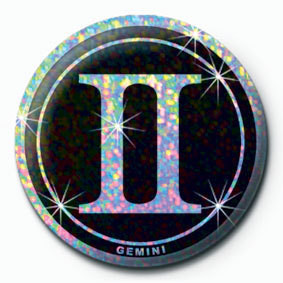 Button ZODIAC - Gemini