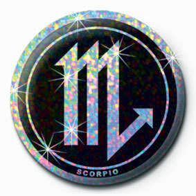 Button ZODIAC - Scorpio