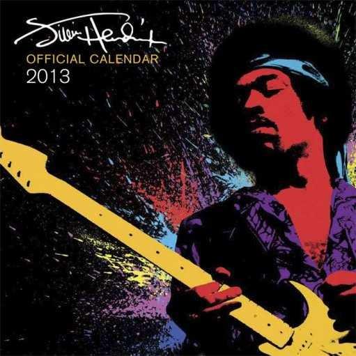 Calendar 2013 - JIMI HENDRIX