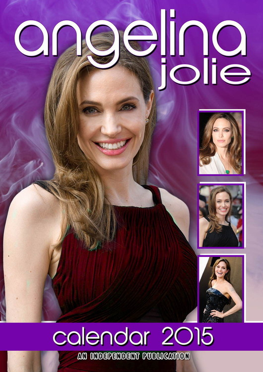 Angelina Jolie Calendar 2017