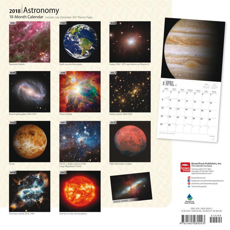 astronomy magazine calendar - 750×750