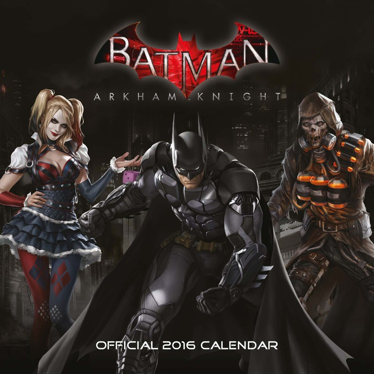 Batman: Arkham Knight Calendar 2016