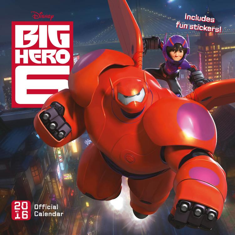 Big Hero 6 Calendar 2017