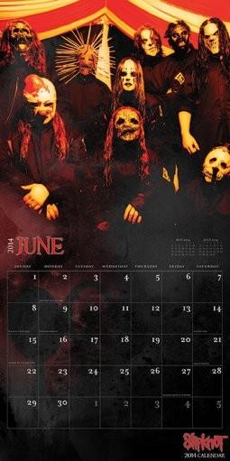 Calendar 2014 - SLIPKNOT Calendar 2019