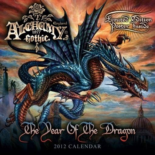 Calendário 2012 - ALCHEMY Calendar 2017