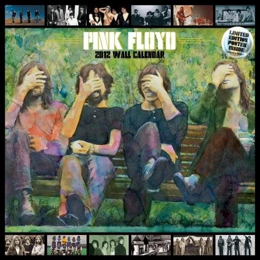 Calendário 2012 - PINK FLOYD Calendar 2017