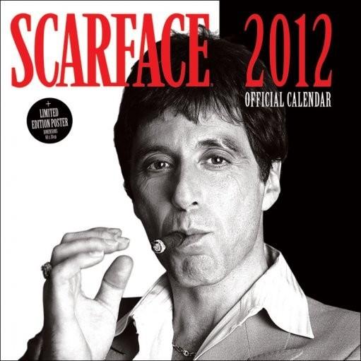 Calendário 2012 - SCARFACE Calendar 2017