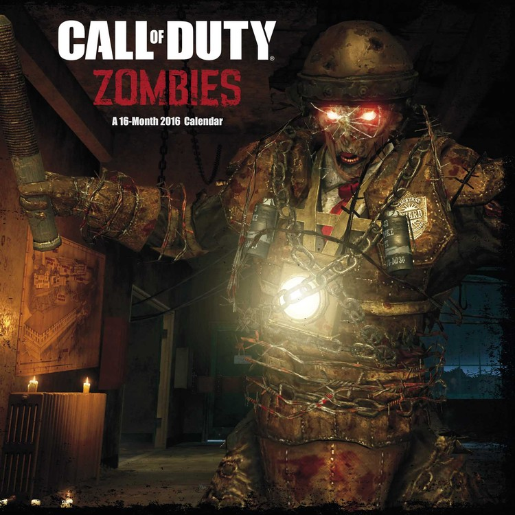 Call of Duty: Zombies Calendar 2018