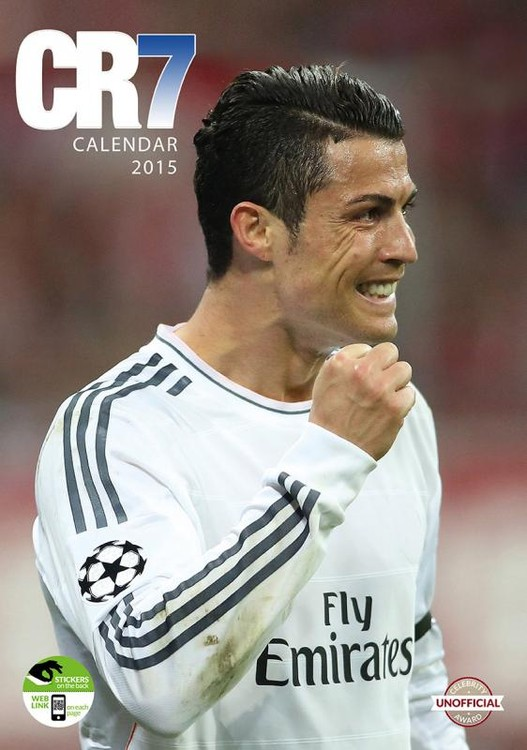 Cristiano Ronaldo Calendar 2017