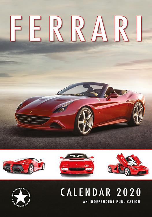 Ferrari Calendar 2020