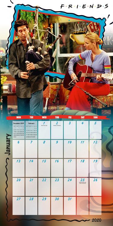 Friends Calendar 2020