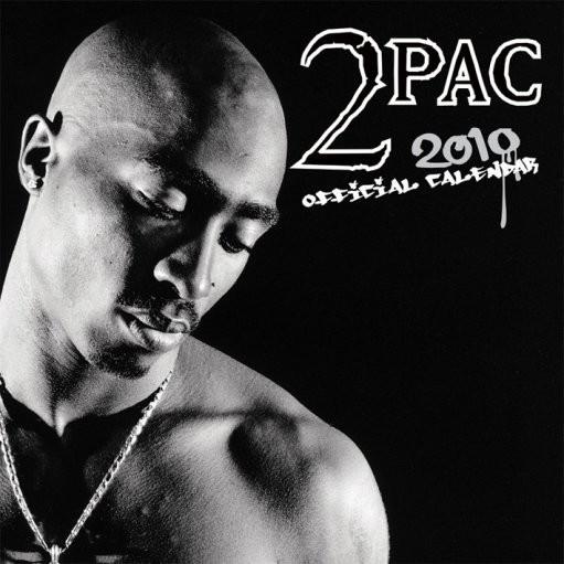 Kalendář 2010 Tupac Calendar 2017