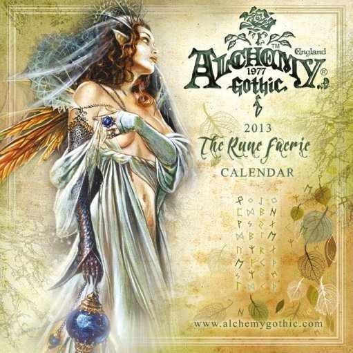 Kalendář 2013 - ALCHEMY Calendar 2017