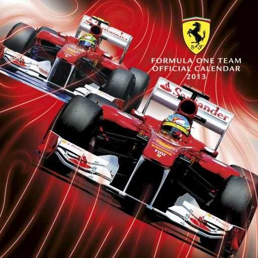 Kalendář 2013 - FERRARI F1 Calendar 2017