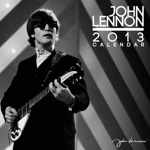 Kalendář 2013 - JOHN LENNON Calendar 2017