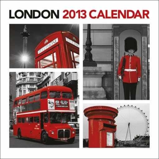 Kalendář 2013 - LONDON Calendar 2017