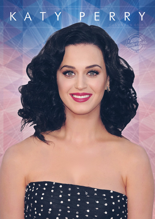 Katy Perry Calendar 2017