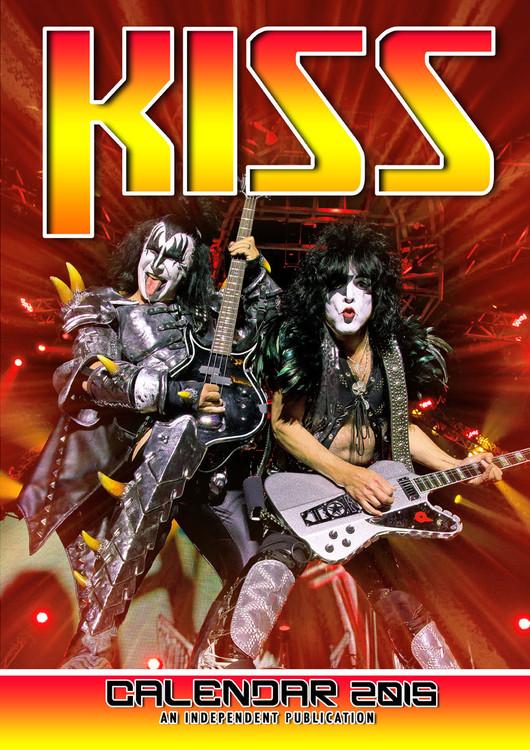 Kiss Calendar 2016