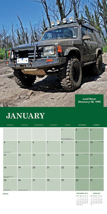Land Rover Calendar 2018
