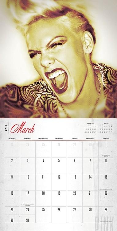 Pink - P!NK Calendar 2020