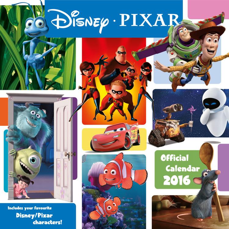 Pixar Calendar 2017