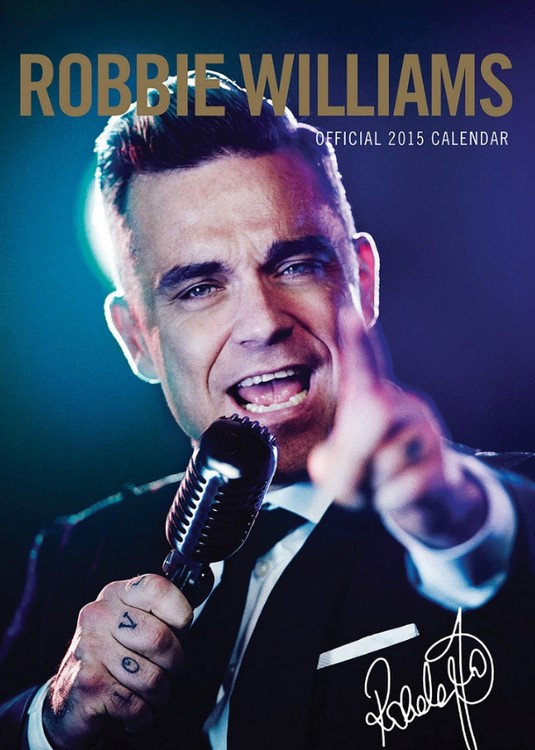 Robbie Williams Calendar 2017