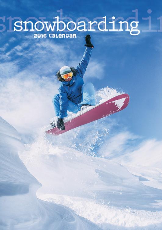 Snowboarding Calendar 2017