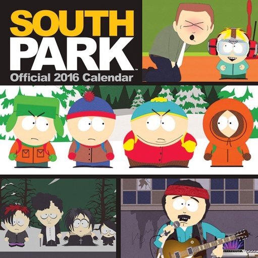 South Park Calendar 2017