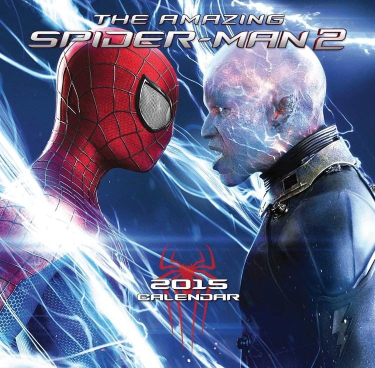The Amazing Spiderman 2 Calendar 2017