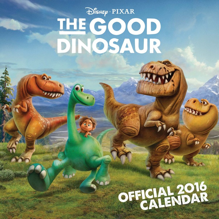 The Good Dinosaur Calendar 2017