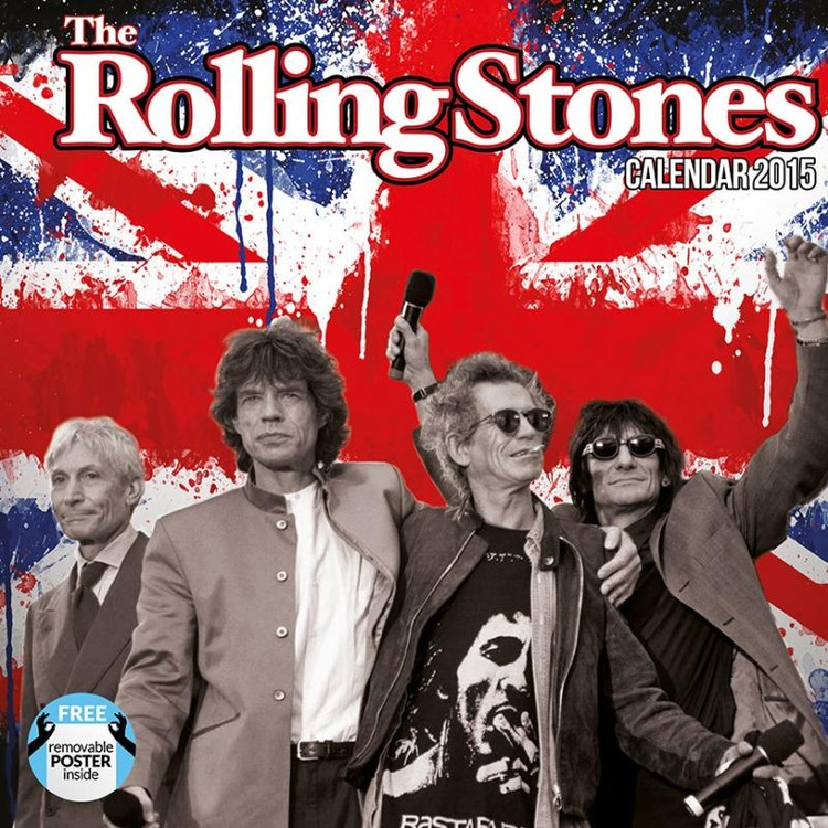 The Rolling Stones Calendar 2016