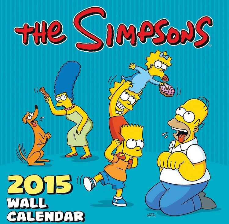 The Simpsons Calendar 2017