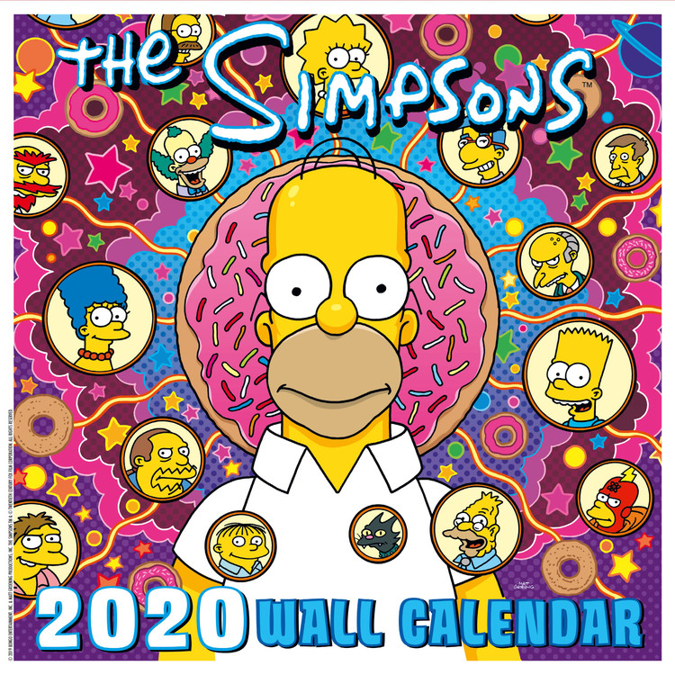The Simpsons Calendar 2021