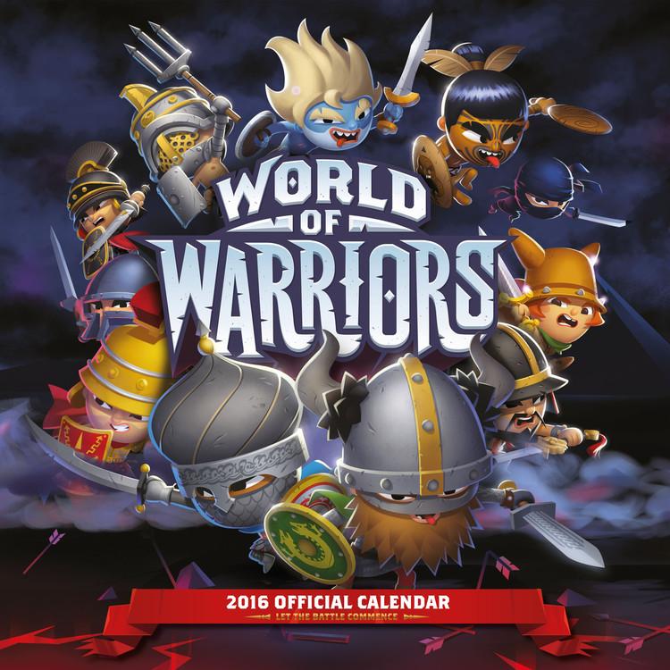 World of Warriors Calendar 2018