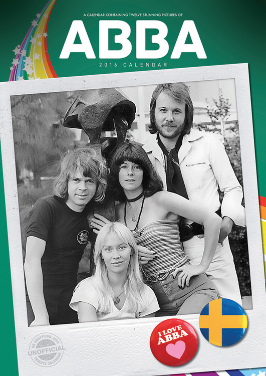 Calendario 2017 ABBA