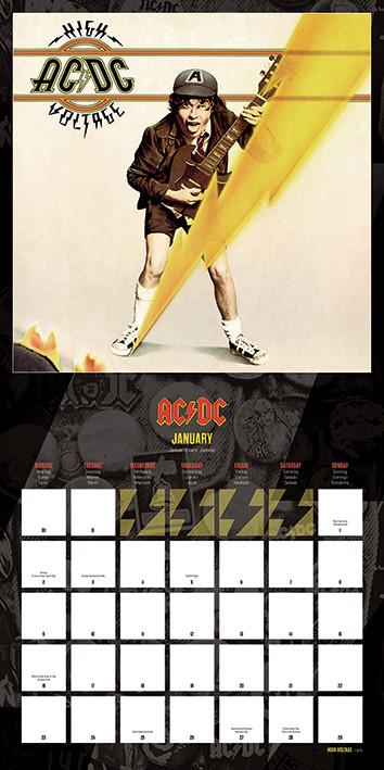 Calendario 2018  AC/DC