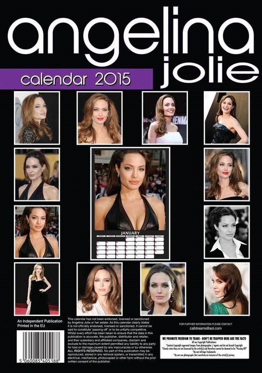 Calendario 2018  Angelina Jolie