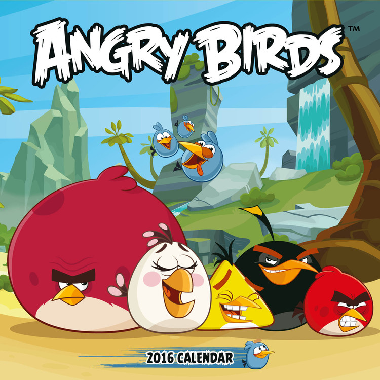 Calendario 2017 Angry Birds