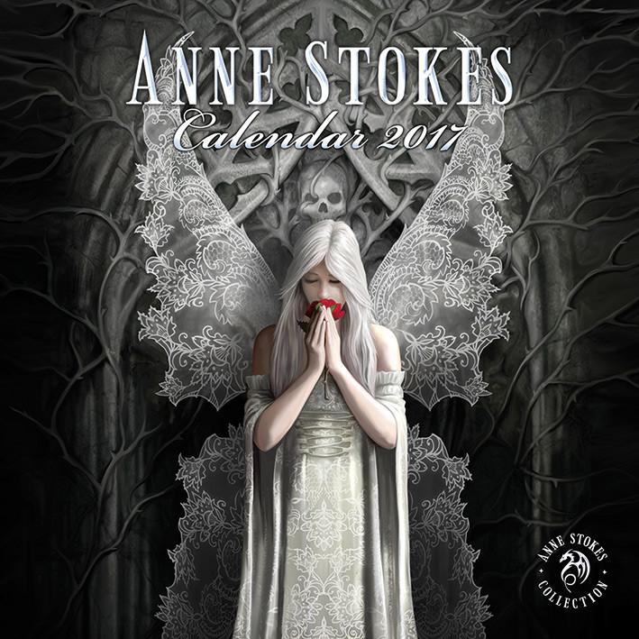 Calendario 2017 Anne Stokes