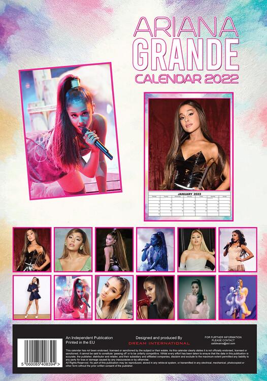 Calendario 2022 Ariana Grande