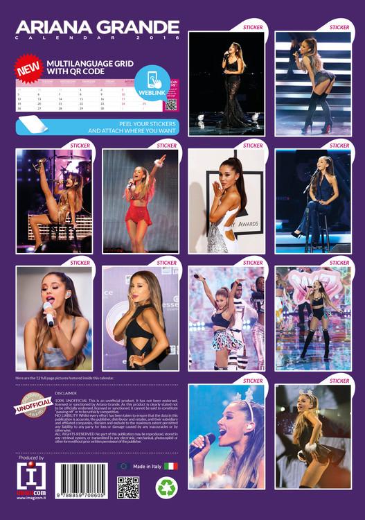 Ariana Grande Calendario.Calendario 2020 Ariana Grande