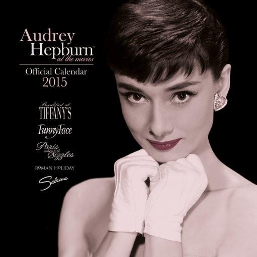 Calendario 2018  Audrey Hepburn