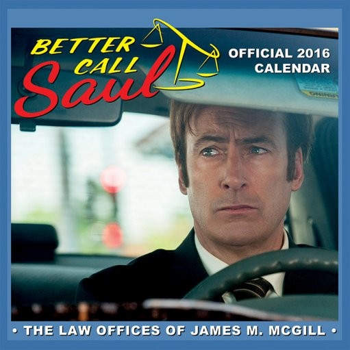 Calendario 2017 Better Call Saul - Breaking Bad