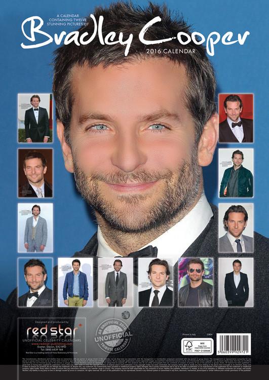 Calendario 2020 Bradley Cooper