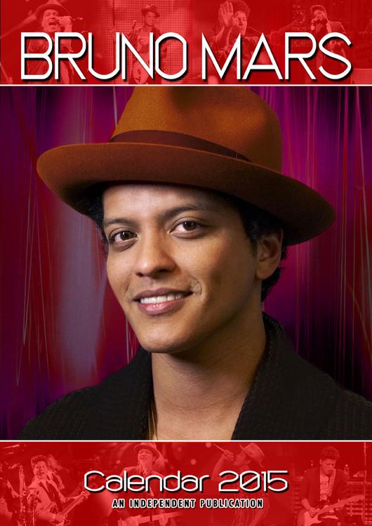 Calendario 2017 Bruno Mars