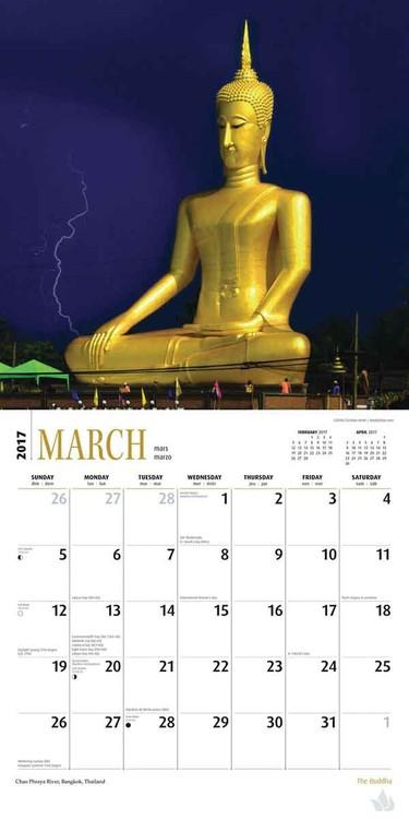 Calendario 2017 Buddha