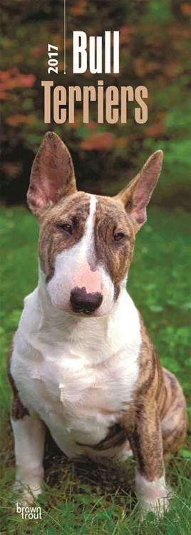 Calendario 2017 Bull Terrier