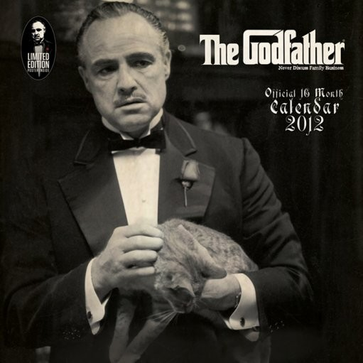 Calendario 2018 Calendar 2012 - THE GODFATHER