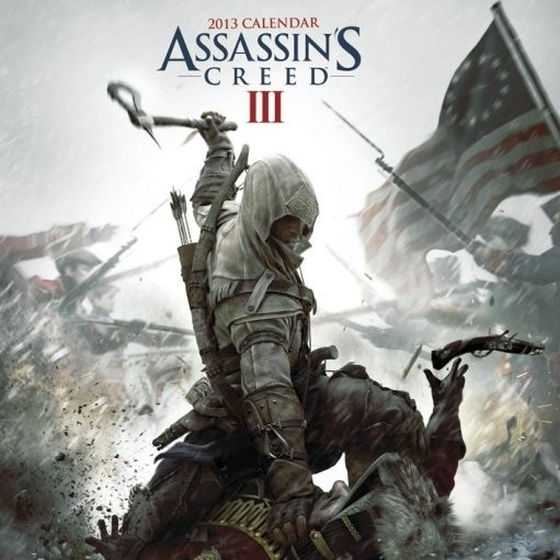 Calendario 2017 Calendar 2013 - ASSASSINS CREED 3