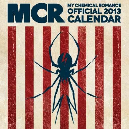 Calendario 2017 Calendar 2013 - MY CHEMICAL ROMANCE